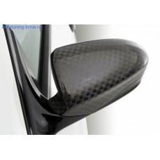 Карбоновые накладки на зеркала Hamann для BMW M5 F10