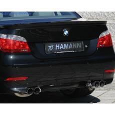 Накладка на бампер задний BMW E60 5-серия Hamann