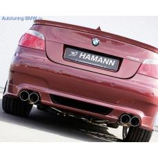 Накладка Hamann на задний бампер BMW E60 5-серия
