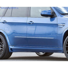Пороги боковые для BMW X5M E70