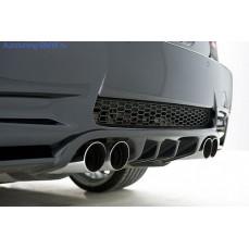 Накладка на бампер задний BMW M3 E92