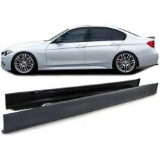 Боковые пороги «M» для BMW F30 3-серия