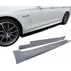 Боковые пороги М-стиль для BMW F10 5-серия