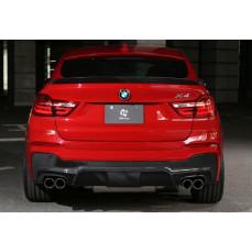 Карбоновый диффузор 3DDesign для BMW X4 F26