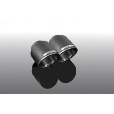 Карбоновые насадки глушителя для BMW X4 G02
