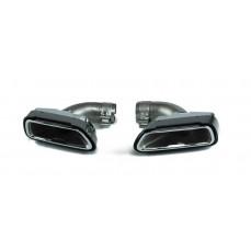 Карбоновые насадки глушителя M Performance для BMW G30 5-серия