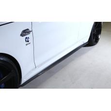 Карбоновые накладки на пороги 3DDesign для BMW M2 F87