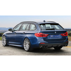 Диффузор заднего бампера JMS для BMW G31 5-серия