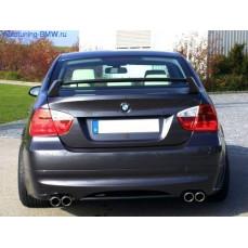 Накладка для заднего бампера BMW E90 3-серия