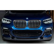 Карбоновый сплиттер 3DDesign для BMW X3 G01
