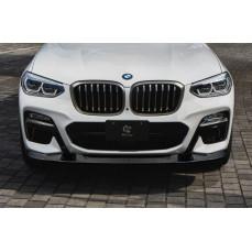 Карбоновый сплиттер 3DDesign для BMW X4 G02