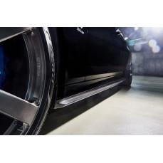 Карбоновые накладки 3DDesign на пороги BMW M5 F90 5-серия