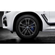 Комплект зимних колес Double Spoke 698M для BMW X3 G01/X4 G02