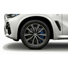 Комплект литых дисков BMW Star-Spoke 740M, orbit-grey