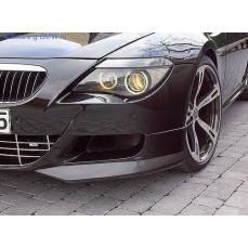 Накладки на бампер передний BMW M6 E63 6-серия