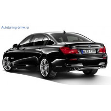 Задний бампер М-стиль для BMW F01/F02 7-серия