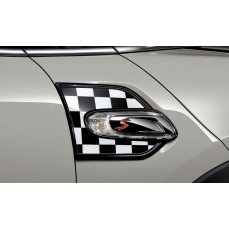 Декоративные накладки Checkered Flag для MINI F55/F56/F57