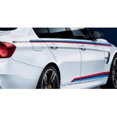 Акцентные полосы M Performance для BMW M3 F80