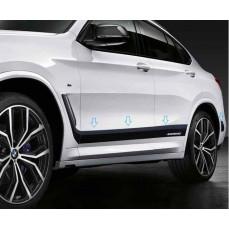 Акцентные полосы M Performance для BMW X4 G02