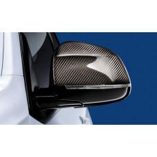 Карбоновые M Performance накладки на зеркала BMW X4 F26