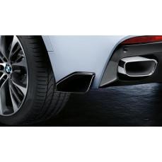 Закрылки заднего бампера M Performance для BMW X6 F16