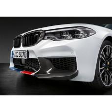 Карбоновые накладки переднего бампера для BMW M5 F90