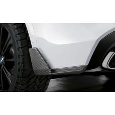 Закрылки заднего бампера M Performance для BMW X5 G05