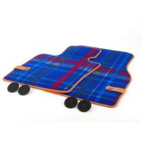 Текстильные коврики Speedwell Blue для MINI F55/F56/F57, передние