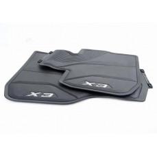 Всепогодные ножные коврики для BMW X3 G01, передние