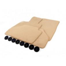 Ножные велюровые коврики для BMW G30 5-серия
