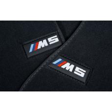Велюровые ножные коврики для BMW M5 F90