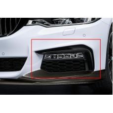 Декоративные накладки переднего бампера для BMW G30 5-серия