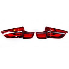 Дооснащение задними фонарями Black Line для BMW X6 E71