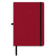 Блокнот MINI Contrast Edge, красный