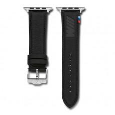 Кожаный ремешок BMW M для часов Apple Watch