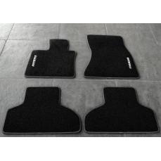 Велюровые коврики Hamann для BMW X4 F26